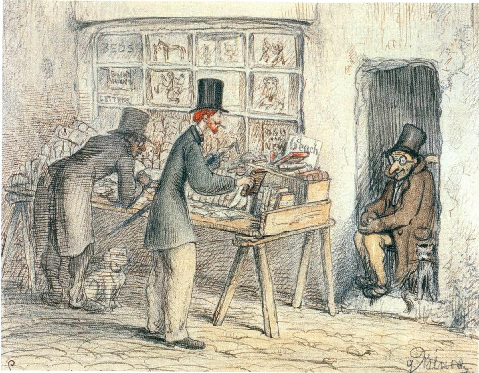 Kálnoky Gusztáv karikatúrája. London, 1864. november 20. (OSZK Régi Nyomtatványok Tára)