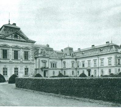 A lengyeli (Tolna megye) Apponyi kastély egykor
